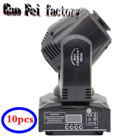 (10 pieces/lot)movinghead LED10W stage light design moving head light mobil head lighting mini bar KTV shook his head lamp light