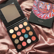 16 Color Shimmer Matte Palette Eyeshadow Shiny Makeup Glitter Pallete Pigment Nude Smoky Waterproof Cosmetic