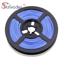 100 метров/рулон 16AWG высокотемпературный гибкий силиконовый провод луженая медная проволока RC шнур питания электронный кабель DIY