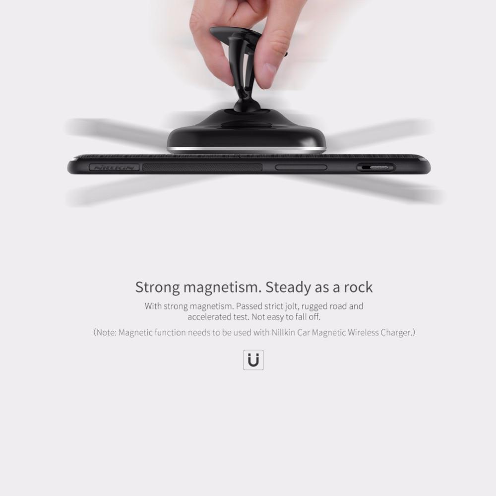 Nillkin Ци Беспроводной зарядки приемник чехол для OnePlus 5 чехол задняя крышка совместим с магнитный держатель для один плюс 5 крышка