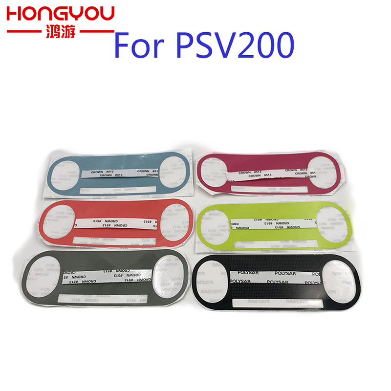 10Pcs For PSV 2000 Host computer StickerPainted color stickers Label For PlayStation VITA 2000 Label