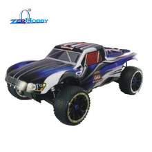 HSP RC CAR TOYS 1/5 SCALE GAS POWERED SHORT COURSE TRUCK 4X4 OFF ROAD RTR 30CC ENGINE (item no. 94053)