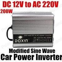 Groothandel transformator modifier sinus 12 V DC naar AC 220 V Auto Auto Omvormer Converter Adapter 200 W