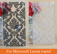 New Высокого Качества Урожай цветок Живопись Моды Прекрасный Мультфильм diy Hard Cover Case Для Nokia Lumia 640XL case