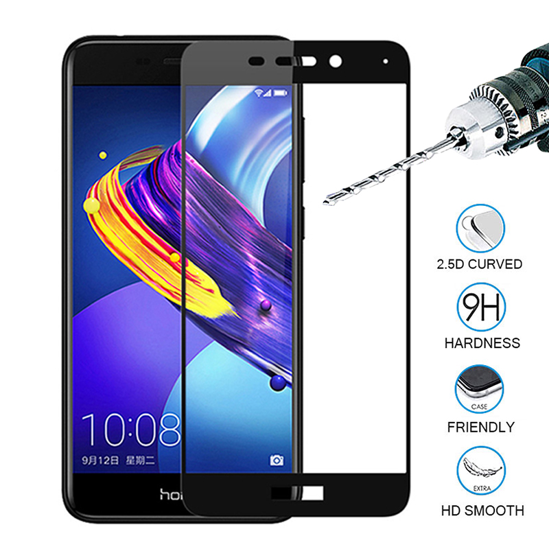 For Huawei Honor 6c pro Full Cover Protective Glass case Screen Protector Tempered Glass On For Honor 6x 6a glas 6 a c x honer