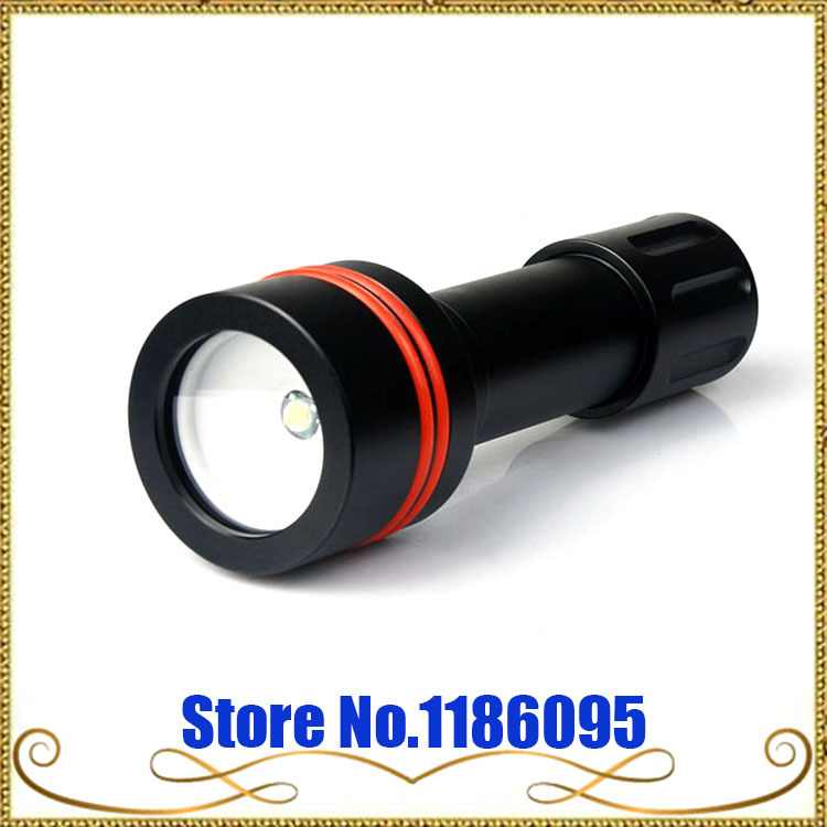 Wholesale Free Shipping Free Shipping!!ARCHON D11V 100M Underwater Snorkeling Diving Light Flashlight Torch 860 Lumens