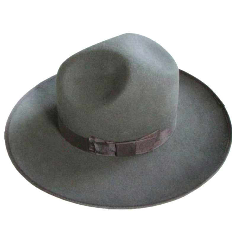 Grey Israel Jewish Hat  Wool Hasidic Jew Fedora Cap + Wide Brim 12 cm-in  Fedoras from Apparel Accessories on Aliexpress.com  8eab87ee968