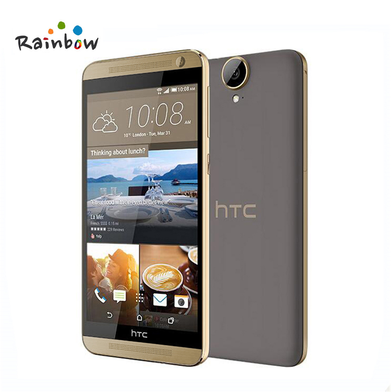 Original HTC One E9 Plus A55 Dual Sim E9pw E9+ 4G LTE Mobile Phone 5.5 inch MTK Octa Core 20MP Camera 3GB RAM 32GB ROM