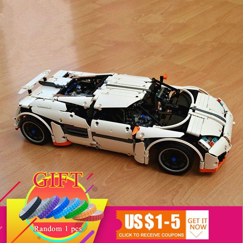 20052 1950Pcs Technical Series The Predator Supercar Set MOC-2811 Building Blocks Bricks toy Model Toys for Kids lepin