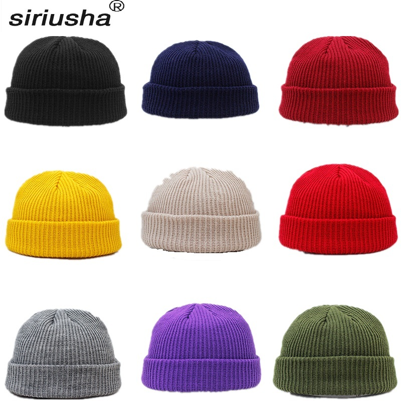 Skullies     Beanies   Knitted Hat Polyester Line Rogue Cap Landlord Cap Light Thin 55-62cm Super Elastic Couple Sharing Fool Hat S201