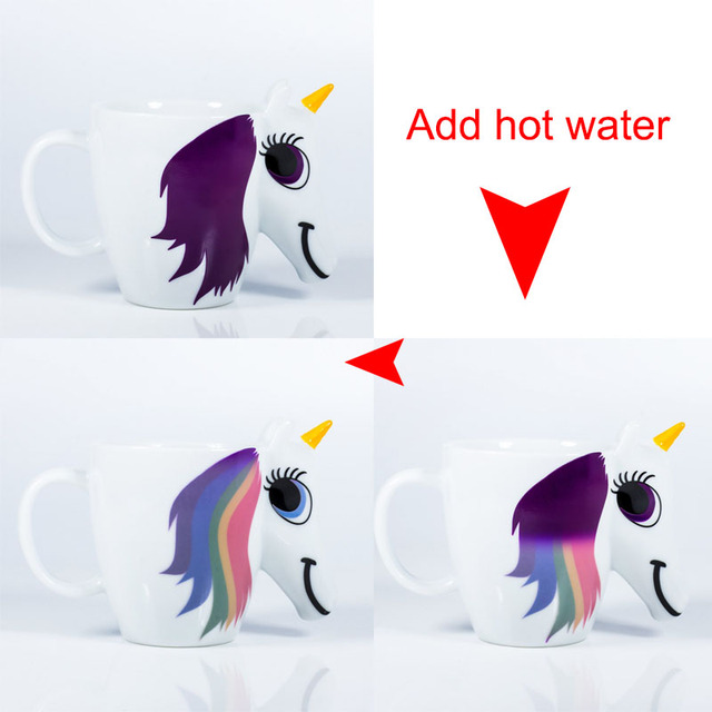 Unicorn Mug (Color Changing)
