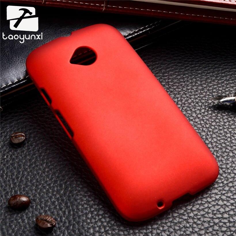 TAOYUNXI Slim Hybrid Phone Case For Motorola Moto E2 E+1 E 2nd Gen. XT1505 XT1511 XT1524 XT1527 4.5 inch Frosted Rubber Skin