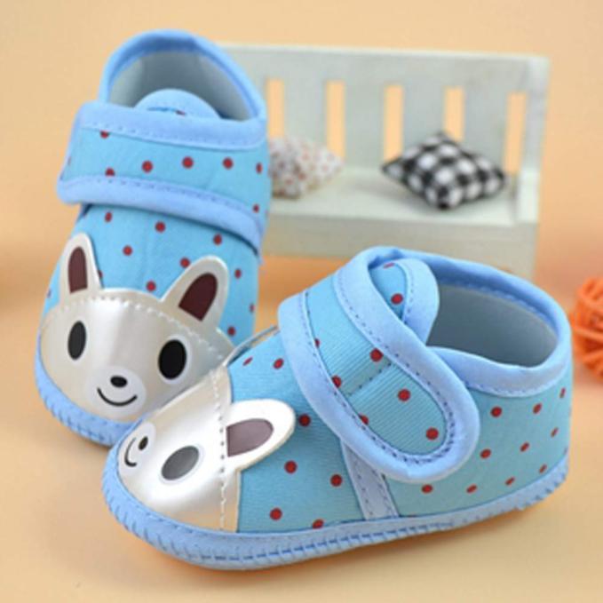 Children Shoes Newborn Baby Baby-Boy-Girl Soft-Bottom Non-Slip Cartoon-Animal
