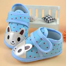 Newborn child baby boy girl crib shoes cartoon animal soft bottom non-slip baby children shoes(China)