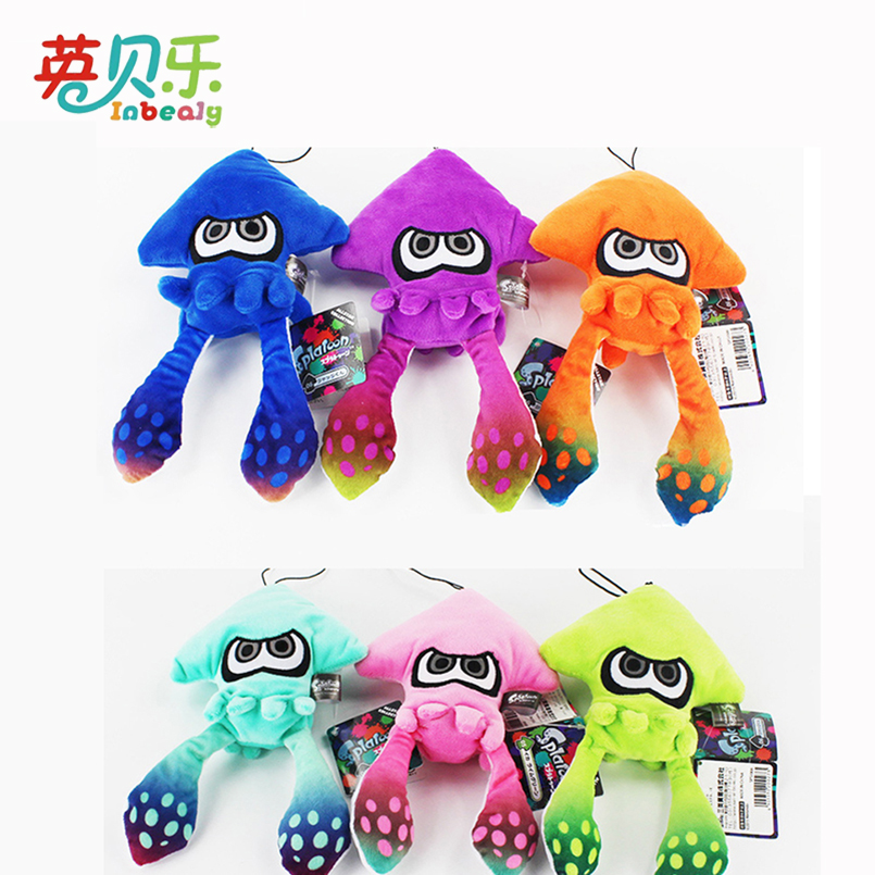 Stuffed Toys Soft Splatoon Inkling Plush Cartoon Doll Toy