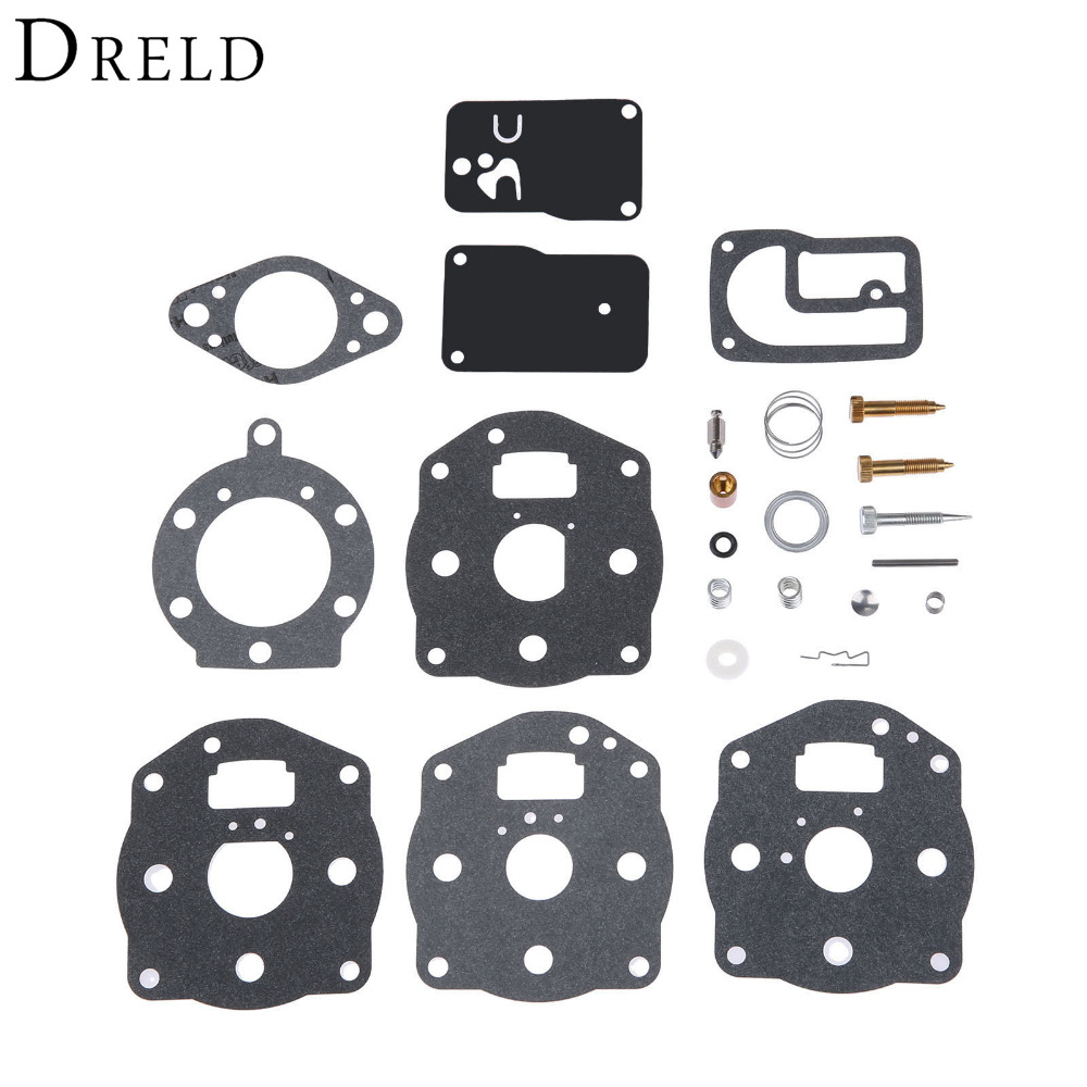 DRELD Carburetor Carb Rebuild Repair Overhaul Kit For Briggs & Stratton 394502 491539 694056 402447 402451 402707 422437 422442