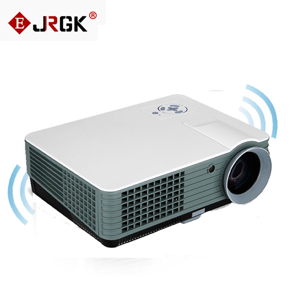 RD-801 Multimedia Video Projector 2000 Lumens Home Theater Beamer LED Projector With HDMI/USB/AV/VGA/ATV Input LCD&LED Proyector