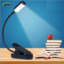 Usb charging clip table lamp led bed reading eye reading lamp book reading light clip lamp light for reading  table lamp study недорого