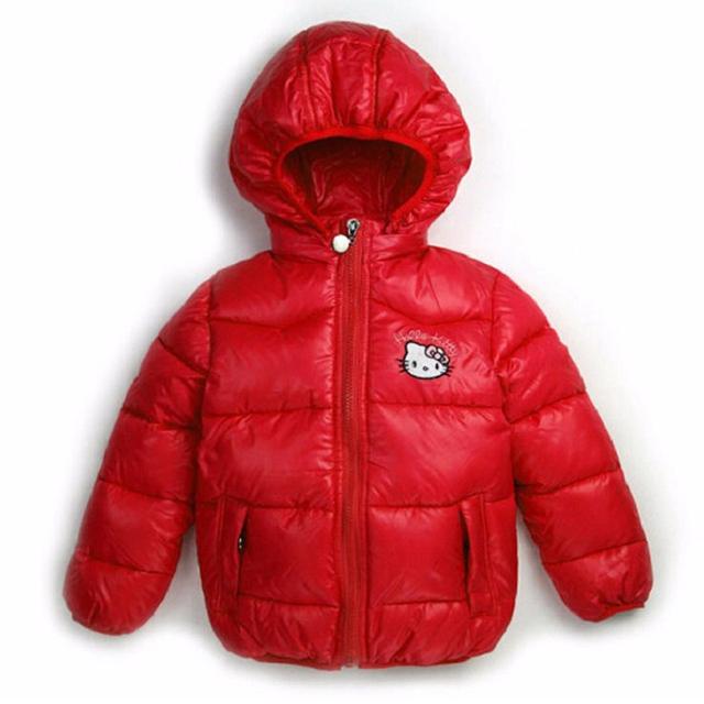 winter jacket for Girl down parka Warm Children jacket Outwear boy Coats Long Sleeve rabbit Hooded Cotton Baby Kid Coat snowsuit