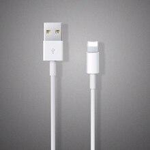 Оригинал 1:1 Белый 8pin USB 1 М Провода Дата Синхронизации, Зарядное Устройство Зарядное Кабель для iPhone 7 Plus 5 5S 6 6 s плюс Для iPad для ios 8 9