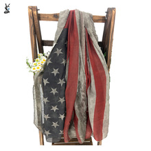 Shawl Scarf American Stole Women Old for Fourth July Independence-Day-Gift YG721 Banner