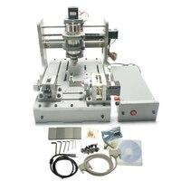 Russain No Tax Newest 4axis DIY Cnc Router 3020 Engrave Machine Cnc 2030 Mini Cnc