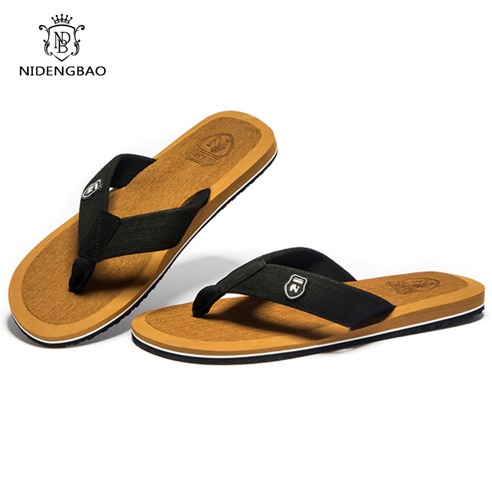 NEEDBO Beach Flip Flops Men Slippers Shoes Comfortable Men's Sandals - Men's Shoes - Photo 3