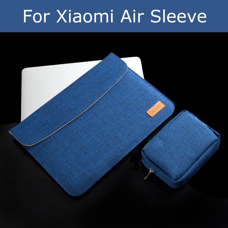 New BESTCHOI Bag for Xiaomi Air 12.5 Laptop 13.3 Sleeve Bag Canvas Women Men Fashion Laptop Cover for Xiaomi 12inch 13inch Bag