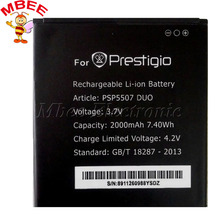 Prestigio PSP5507 DUO Battery 2000mah High Quality Mobile Phone Replacement Accumulator