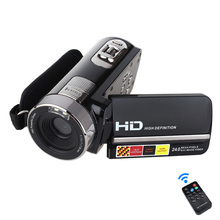 "HDV-301STR 24MP Cámara Portátil de Vídeo Digital Videocámara Full HD 1080 P DV DVR 3 ""TFT LCD de 16X de ZOOM IR Night Shot/Remoto Control"