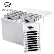 Caja de almacenamiento de pestañas postizas, organizador de maquillaje de 5/10 capas, soporte para pegamento, Pallet, extensión de pestañas de injerto, herramienta de maquillaje
