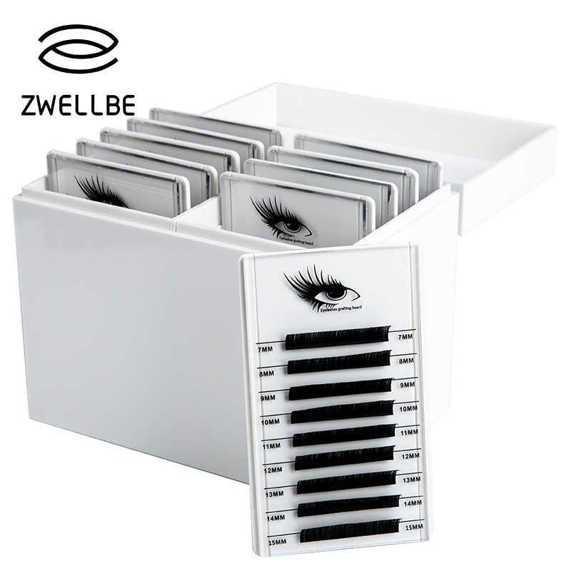 1afbb5c0ea9 Eyelash Storage Box 5/10 Layers Makeup Organizer False Eyelashes Glue  Pallet Holder Grafting Eyelashes