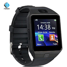 FORCA DZ09 Smart Watch Bluetooth Color LCD Touch Screen Message Call Reminder Fitness Tracker Pedometer SIM Card Wristband