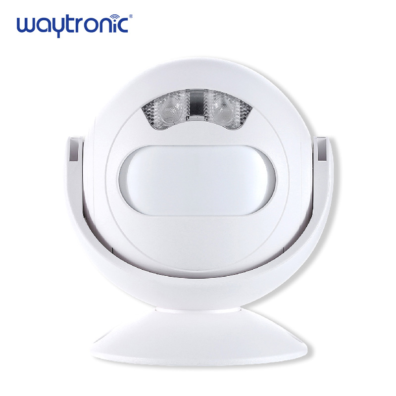 Wireless PIR Infrared Motion Detector Alarm Entry Alert Welcome Doorbell With LED Night Light For Shop Store Home Villa Office