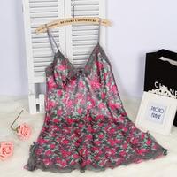 Spaghetti Strap Sexy Women S Summer Style Mini Nightwear Nightgown Free Shipping 2016 Lace Sleepwear With
