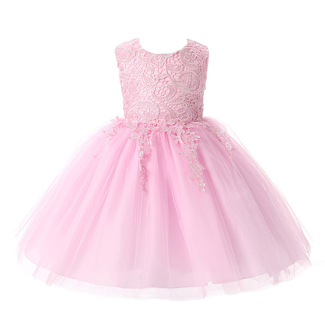 New Girls Dresses For Summer cotton Ball Gown party dress Baby Girls Cute  Princess Dress,girls clothing red white pink