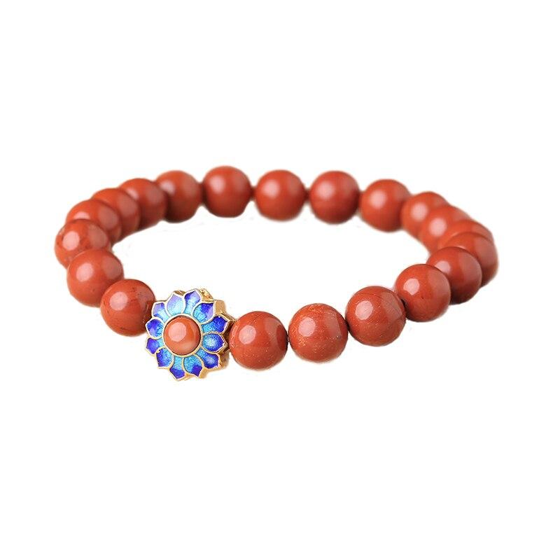 Style ethnique Original simple redst un bijoux rouge rétro natal bijoux artisanaux