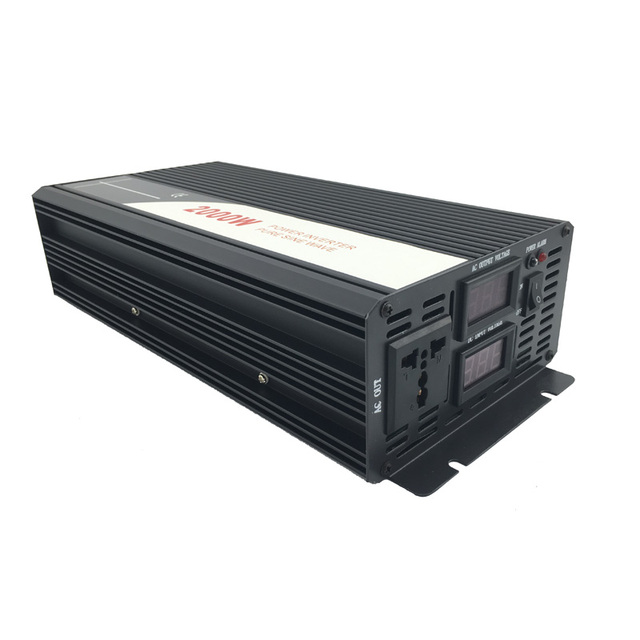 2000W pure sine wave solar power inverter DC AC 110V 5