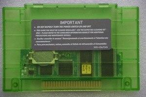 Image 2 - Super 101 w 1 dla S N E S 16 bit 46 pin wideo kartridż z grą dla USA wersja konsole do gry (24 gry mogą oszczędzanie baterii)