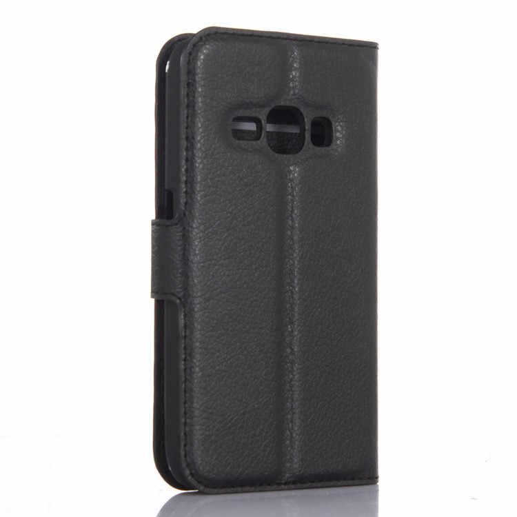 NFH J1 2016 кожаный флип чехол для samsung Galaxy 2016 J1 J120 J120F держатель для карт Бумажник кожаный чехол на J1 чехол для телефона чехол