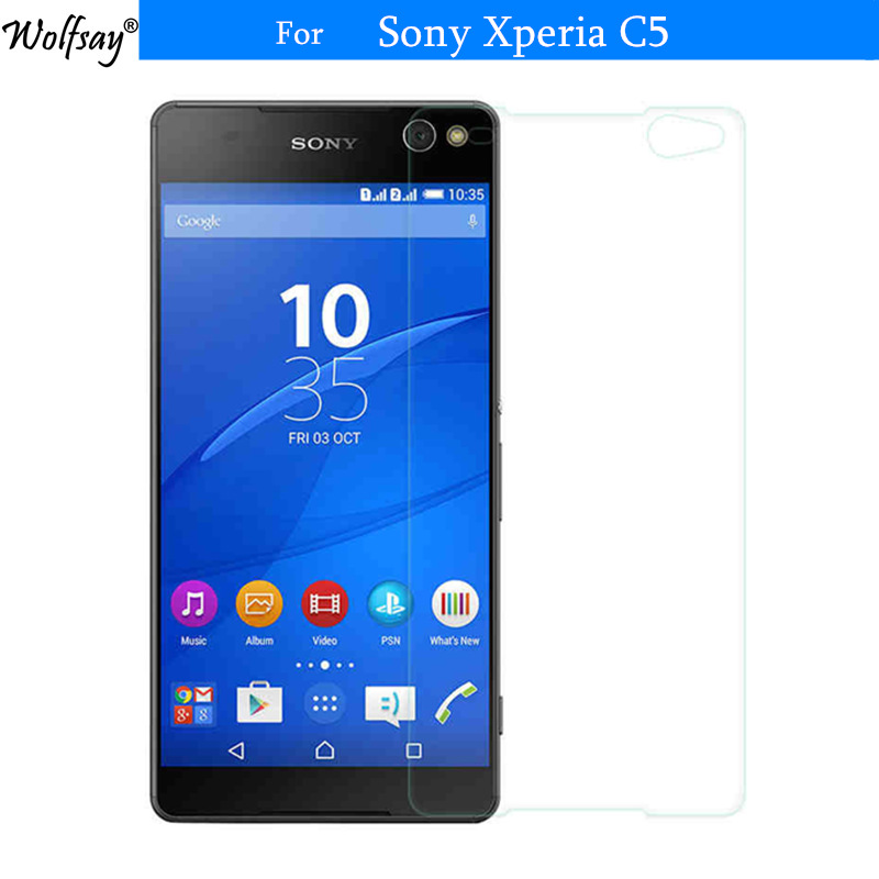 2pcs For Glass Sony Xperia C5 Tempered Glass For Sony Xperia C5 Screen Protector For Sony Xperia C5 Ultra Dual E5533 Glass Film