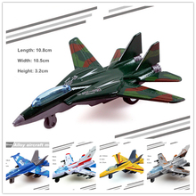 8pcs/Lot Mini Aircraft Mini Model Fighter Air Plane Airplanes Models For Boys Children Baby Toys Gift