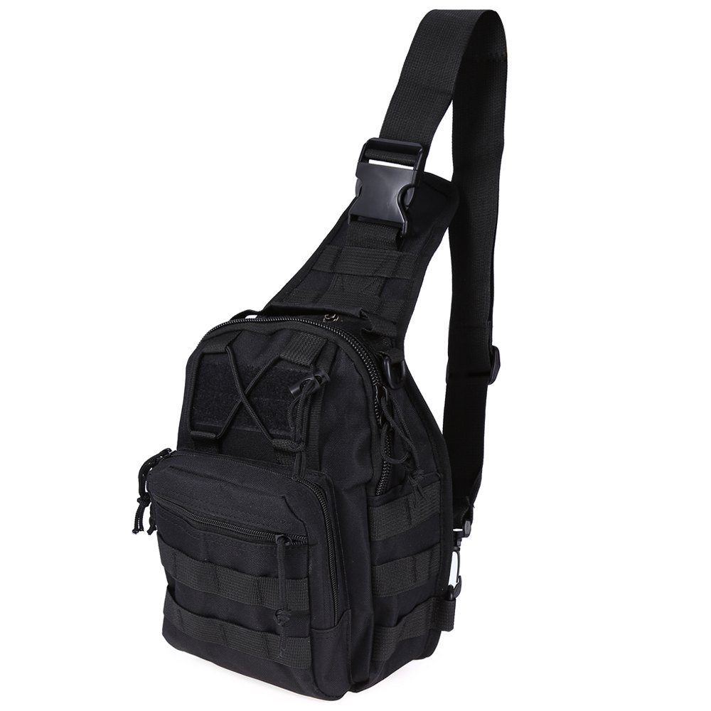chest bag with molle military pouch tactical shoulder