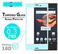 """BEST Anti-Shatter 3D full Curved Tempered Glass Film for Sony Xperia X Compact 4.6"""" full cover high clear Screen Protector films"""