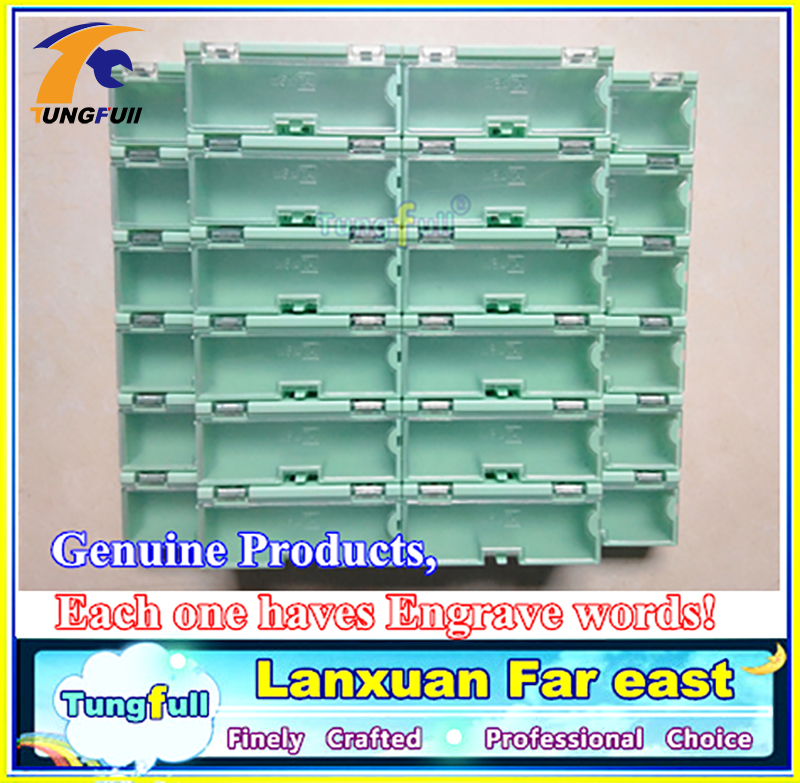 30 pezzi componenti elettronici kit kit scatole contenitori - Portautensili - Fotografia 2