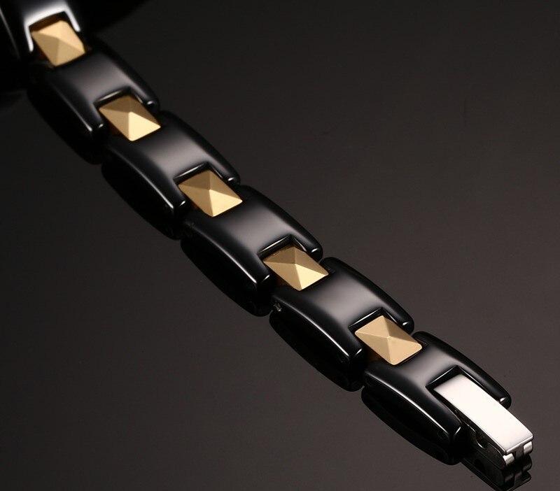 Купить модные золотые цвет нержавеющаясталь керамика гематита пара