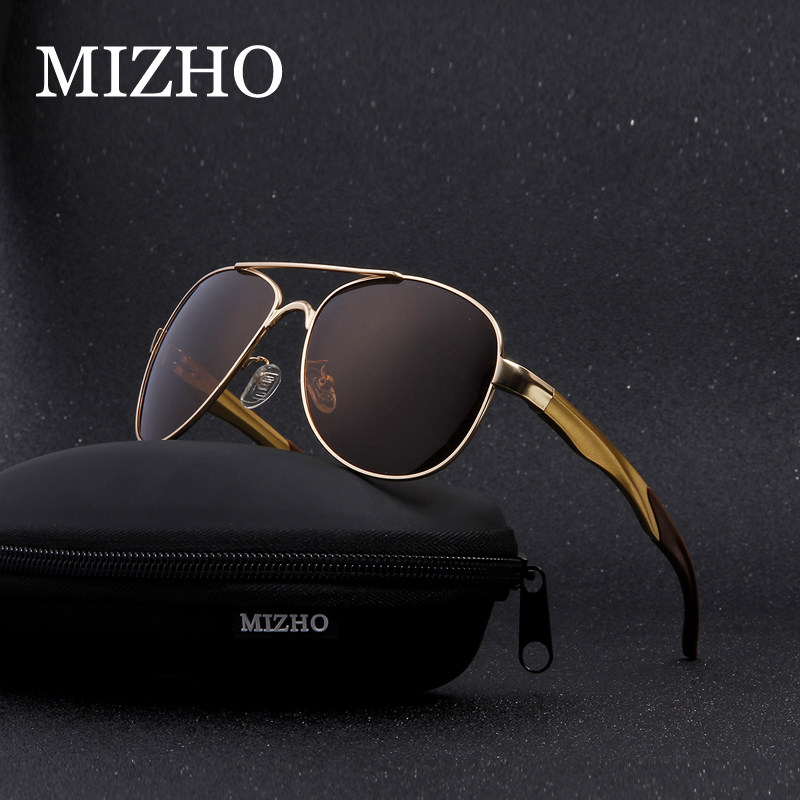 MIZHO Aviador Óculos De Viagem de Alumínio de Grandes Dimensões de  Revestimento de Vácuo IP UV400 4eefe742eb