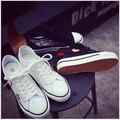 Летние ботинки холстины Женщин толстым дном Увеличение Высоты обуви воздухопроницаемой сеткой марлевые ткани обувь студенты обувь одного