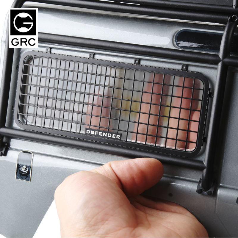 GRC Rear Window network <font><b>RC</b></font> <font><b>Racing</b></font> <font><b>Car</b></font> <font><b>Truck</b></font> Climbing <font><b>Car</b></font> Spare Parts Accessories for TRX4 TRX-4 T4 image