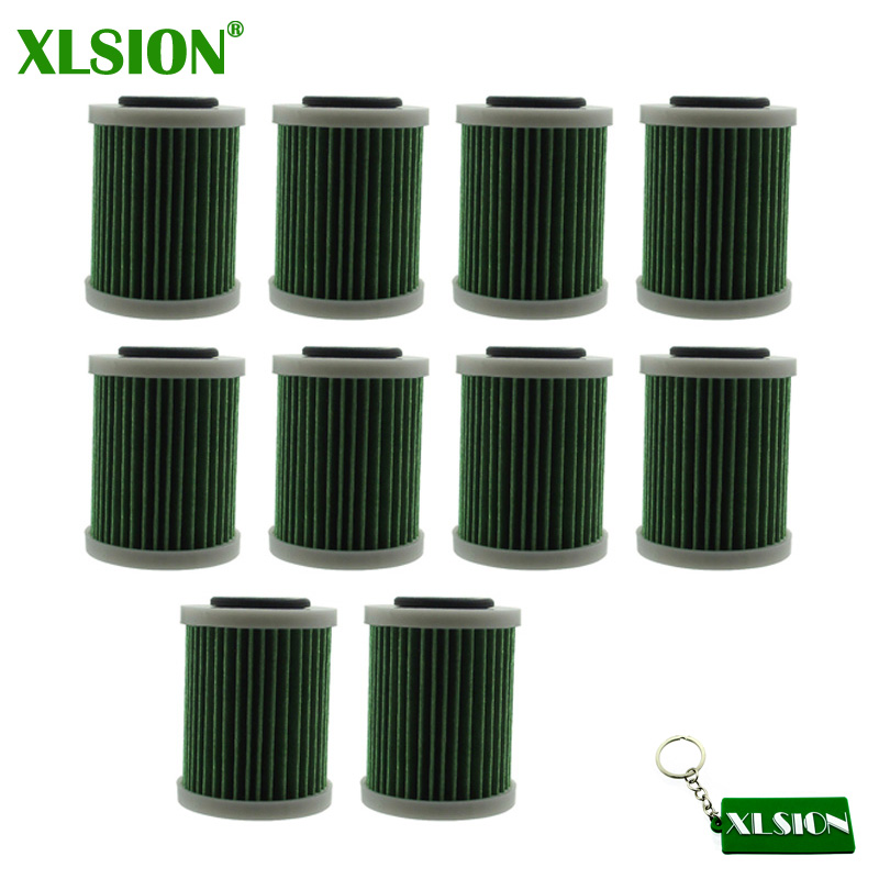XLSION 10x Fuel Filter For Yamaha 6P3 WS24A 01 00 VF200 VZ200 Z300 VZ225 VZ250 VZ150 F150 F200 F225 F250 B VZ175 VZ300 Sierra-in Fuel Filter from Automobiles & Motorcycles    1